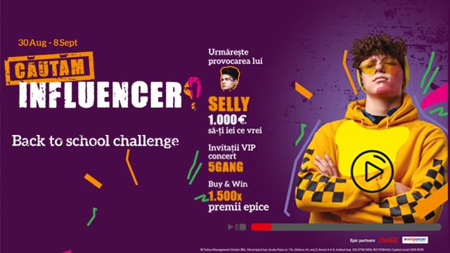 Back to School Challenge - Cautam Influencer!