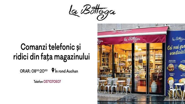 La Bottega - menu