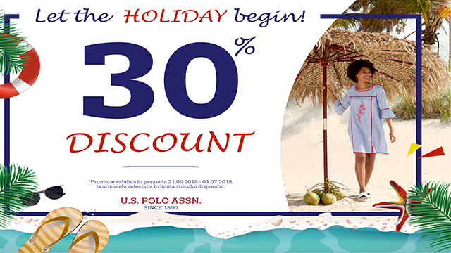 U.S POLO ASSN - 30% discount