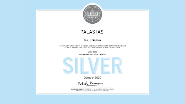 Certificat LEED® Neighborhood Development