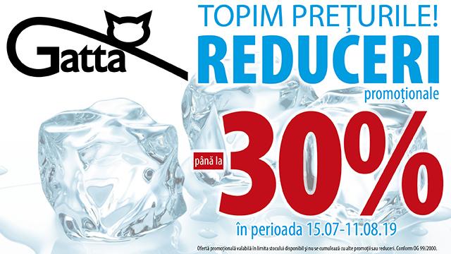 Gatta - up to 30 %