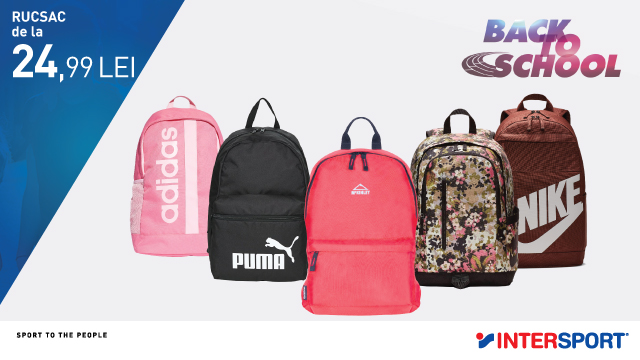 INTERSPORT: Back to school