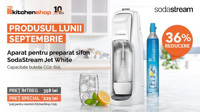 Produsul Lunii SEPTEMBRIE - SodaStream | KitchenShop