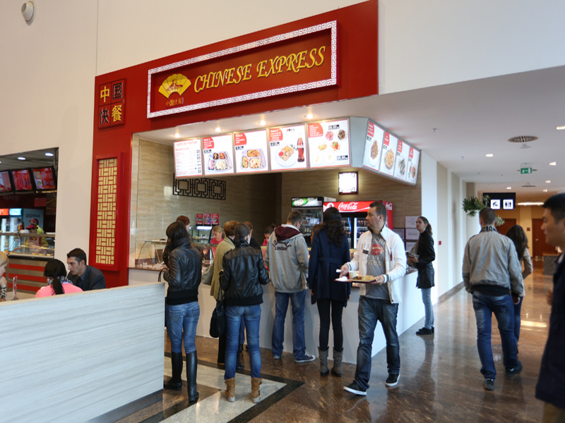 Palas mall foodcourt chinese express for Asian cuisine express