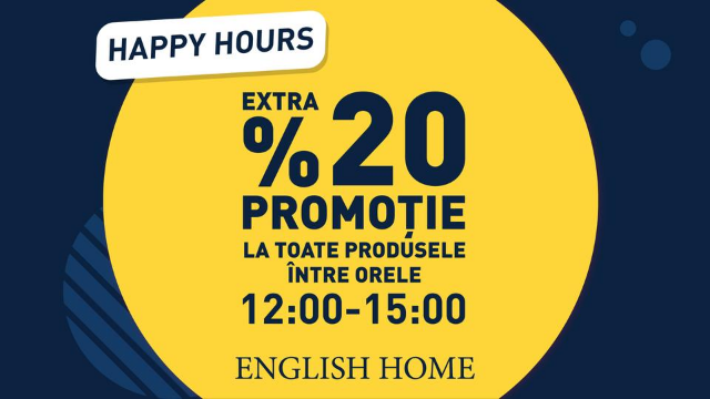 English Home - 20% discount