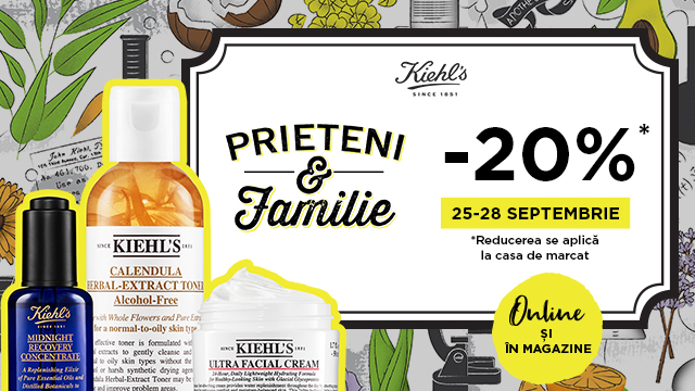 Kiehl's: the most expected moment