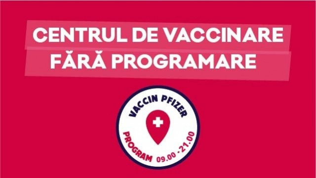 Vaccination center without appointment in Palas Mall