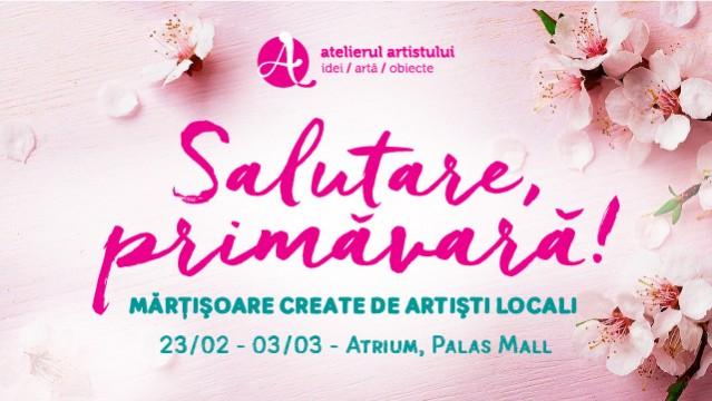 Salutare Primăvară! Mărțișoare create de artiști locali
