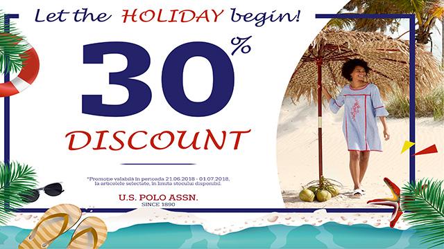 U.S POLO ASSN - 30% discount