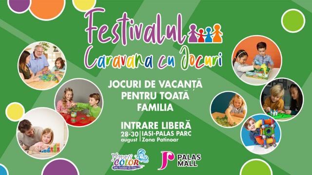 Happy Color România: CARAVANA CU JOCURI