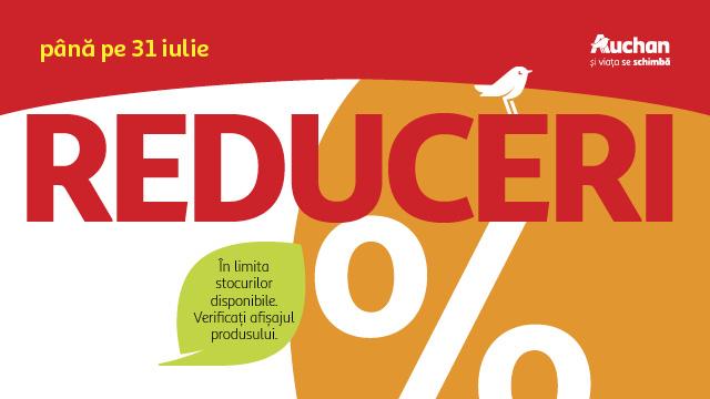 Auchan - Reduceri de până la 70% în limita stocurilor disponibile!