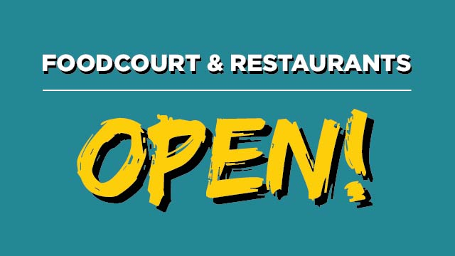 FoodCourt - FINALLY OPEN