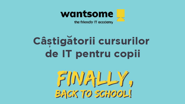 "Castigatori Marea Extragere ""FINALLY, BACK TO SCHOOL"""