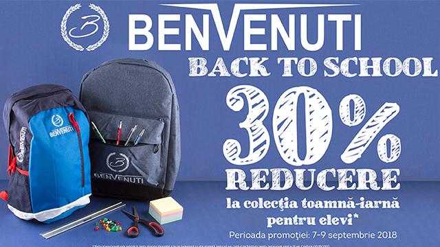 BENVENUTI - BACK TO SCHOOL