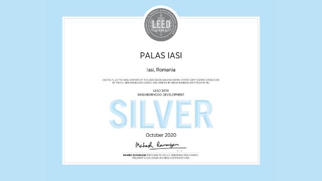 Certificat LEED® Neighborhood Development
