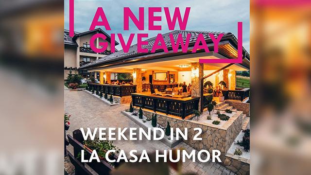 A new giveaway - WEEKEND IN 2 LA CASA HUMOR