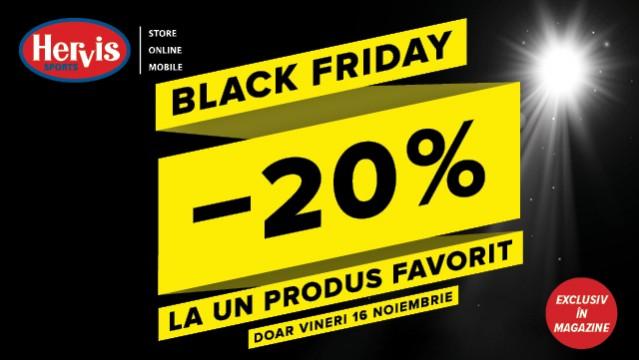 Black Friday la Hervis!