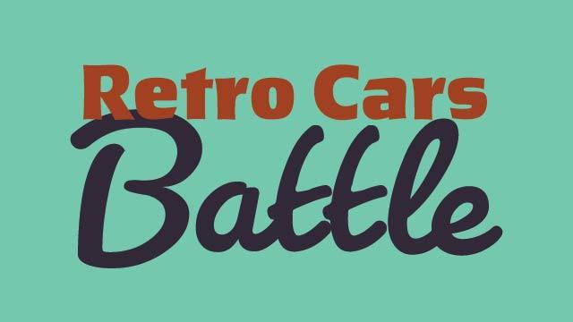 Retro Cars Battle: British vs American