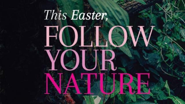 This Easter, follow your nature!