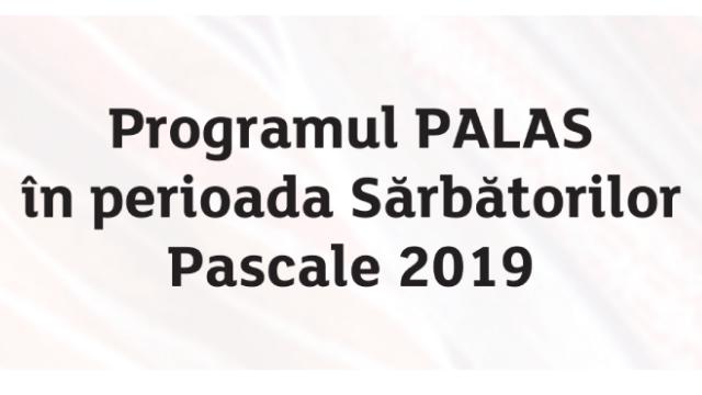 Program Sarbatori Pascale