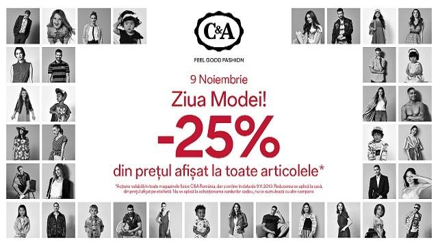C&A Ziua Modei - 9 Noiembrie