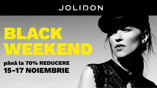 Jolidon BLACK WEEKEND 15-17 NOV 2019