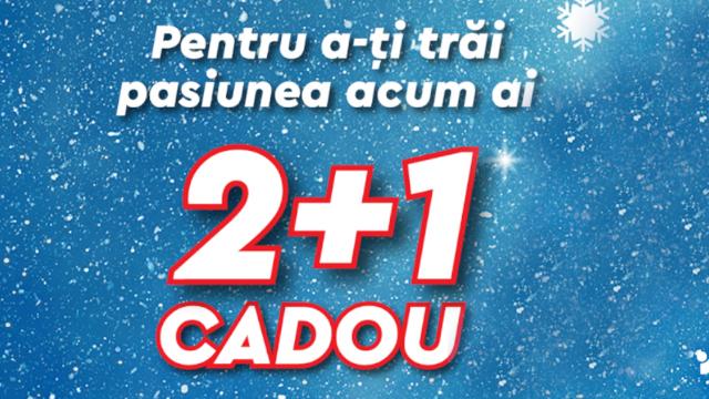 INTERSPORT:  2+1 CADOU