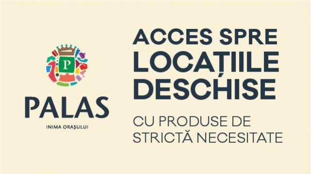 Harta acces locatii deschise