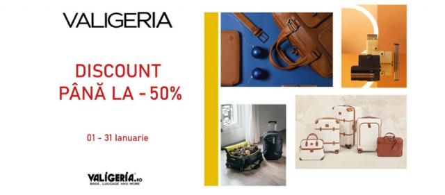 Valigeria - 50 % discount