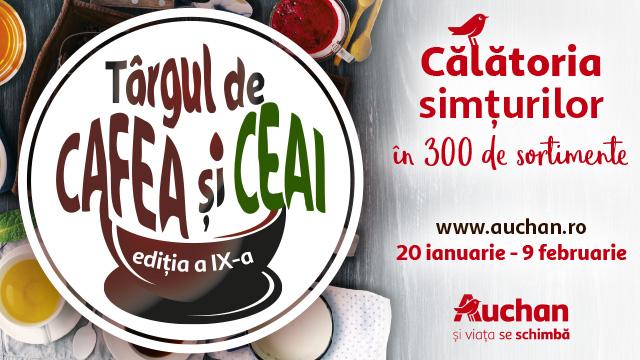 Targul de Ceai si Cafea Auchan